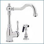 One Handle with Spray Kitchen Faucets