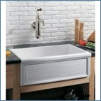 Apron Front Single Bowl Kitchen Sinks