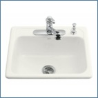 Drop-In Single Bowl Kitchen Sinks