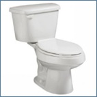 Two Piece Elongated Bowl Toilets